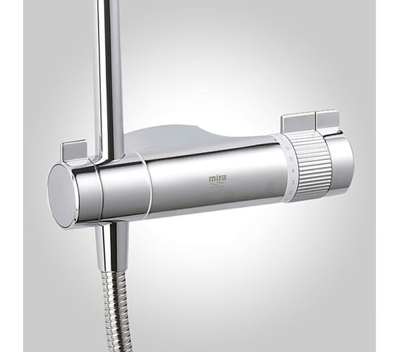 Additional image of Mira Agile ERD Thermostatic Mixer Shower Chrome - 1.1736.403
