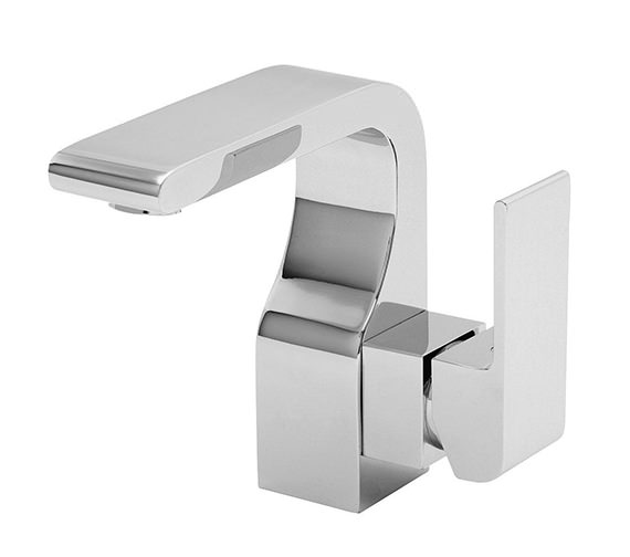 Tre Mercati Rubik Mono Basin Mixer Tap With Click Clack Waste Chrome