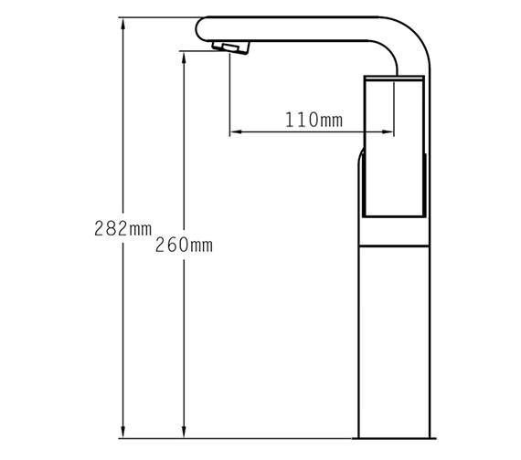 Technical drawing QS-V78989 / 41060