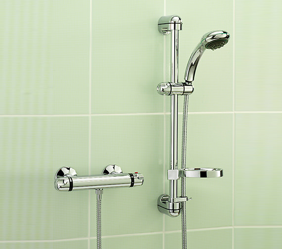 Tre Mercati Roma Chrome Exposed Thermostatic Shower Valve With Kit