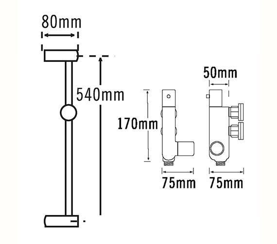 Technical drawing QS-V79129 / 50440