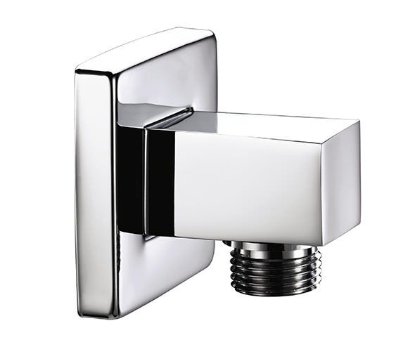Bristan Square Shower Wall Outlet Chrome - ARM WOSQ01 C