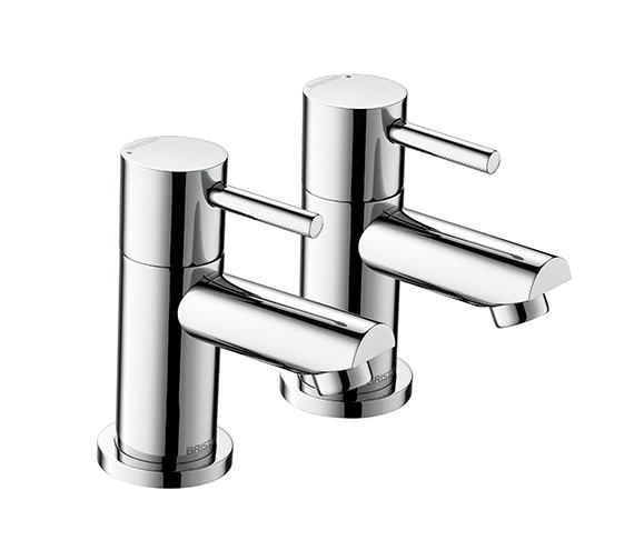 Bristan Blitz Chrome Plated Bath Taps - BTZ 3-4 C