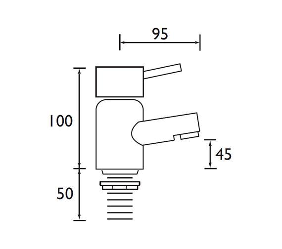 Technical drawing QS-V79150 / BTZ 3/4 C