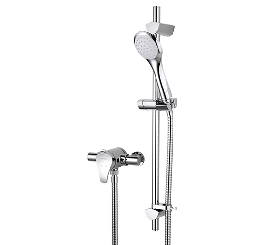 Bristan Capri2 Chrome Shower Valve With Adjustable Riser - CAP2 SHXAR C