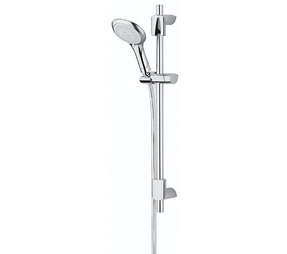 Bristan Evo Adjustable Shower Kit With Multi Function Rub Clean Handset