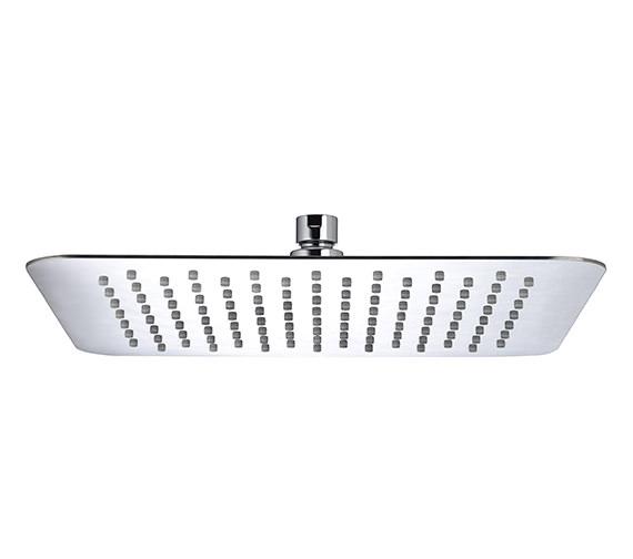 Bristan Stainless Steel Slimline 300mm Square Shower Head