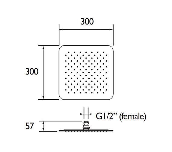 Technical drawing QS-V79174 / FH SLSQ03 C