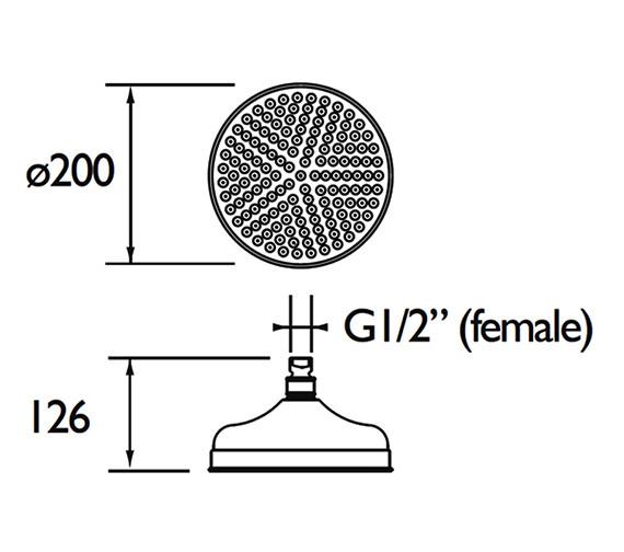 Technical drawing QS-V79177 / FH TDRD02 C