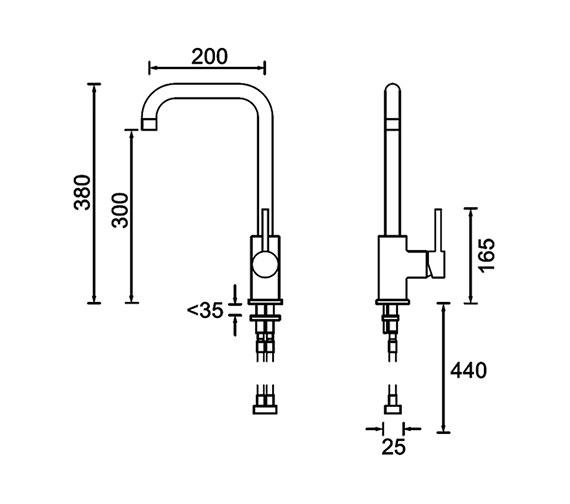 Technical drawing QS-V79191 / LMN EFSNK C