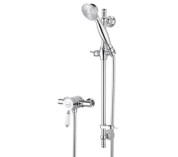 Bristan Colonial Thermostatic Shower Valve With Adjustable Riser Kit