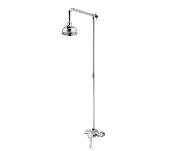 Bristan Colonial Thermostatic Shower Valve With Rigid Riser Kit