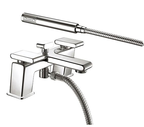 Bristan Pivot Bath Shower Mixer Tap Chrome - PIV BSM C