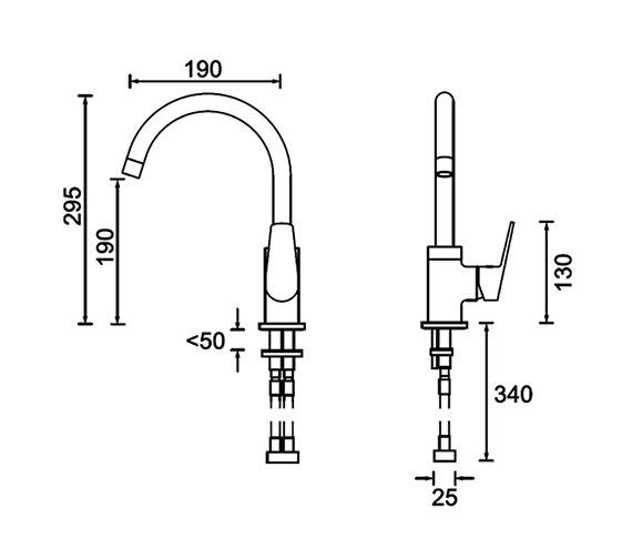 Technical drawing QS-V79204 / RSP EFSNK C