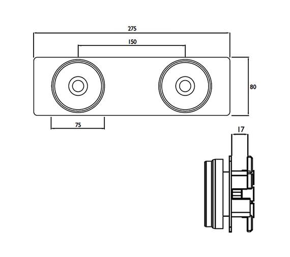 Technical drawing QS-V79212 / WMNT11 C
