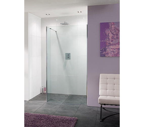Lakes Coastline Nice 8mm Walk-In Shower Panel 1400 x 2000mm