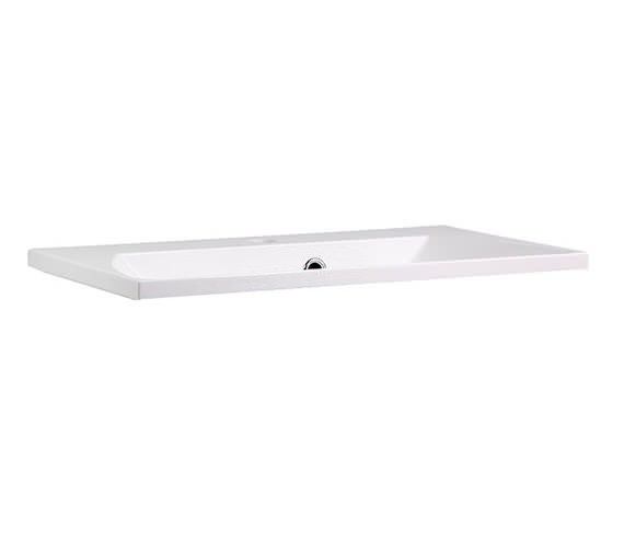 Additional image of Roper Rhodes Cypher 600mm Wide Gelcoat White Basin