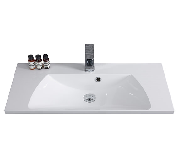 Alternate image of Roper Rhodes Cypher 600mm Wide Gelcoat White Basin