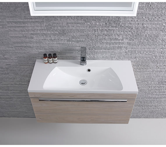 Roper Rhodes Cypher 600mm Wide Gelcoat White Basin