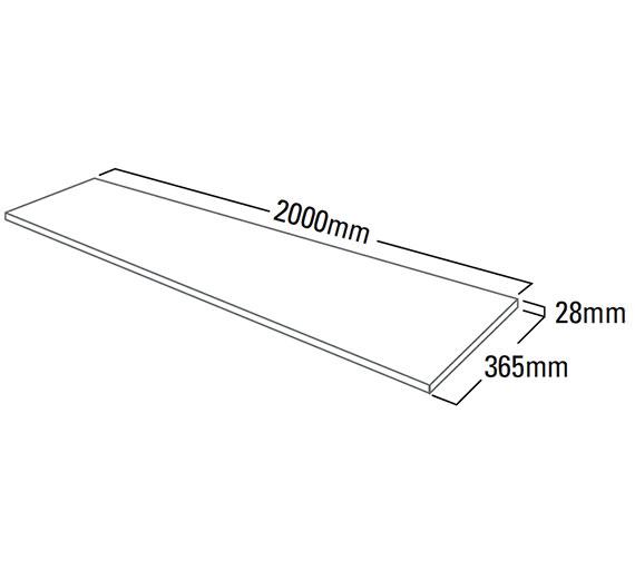 Technical drawing QS-V79328 / F3W20.SL
