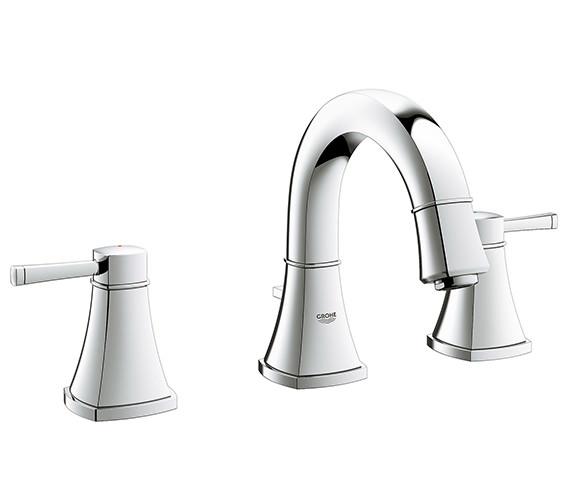 Grohe Spa Grandera Chrome 3 Hole Basin Mixer Tap