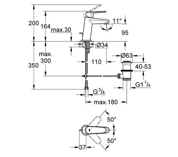 Technical drawing QS-V79490 / 23049002