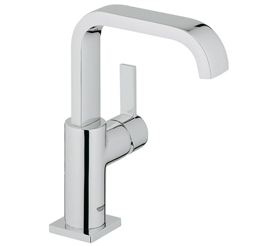 Grohe Spa Allure Chrome Basin Mixer Tap With Pop Up Waste - 23076000
