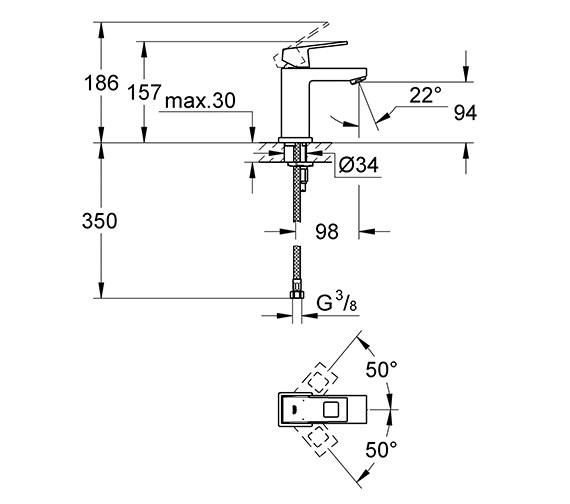 Technical drawing QS-V79492 / 23132000