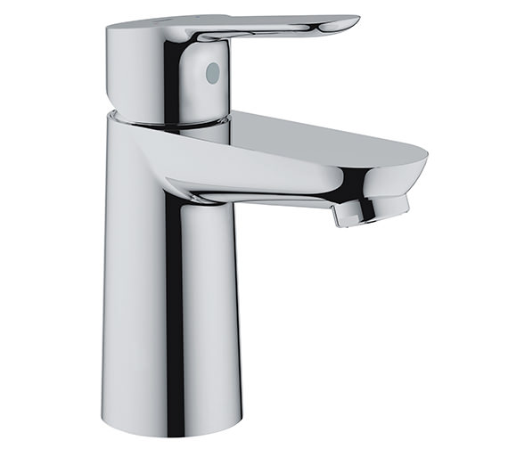 Grohe BauEdge Half Inch Chrome Basin Mixer Tap Without Waste - 23330000