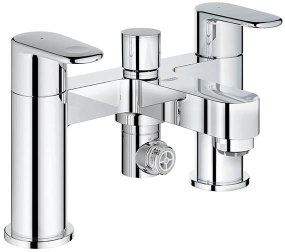 Grohe Europlus Deck Mounted Bath Shower Mixer Tap - 25133002
