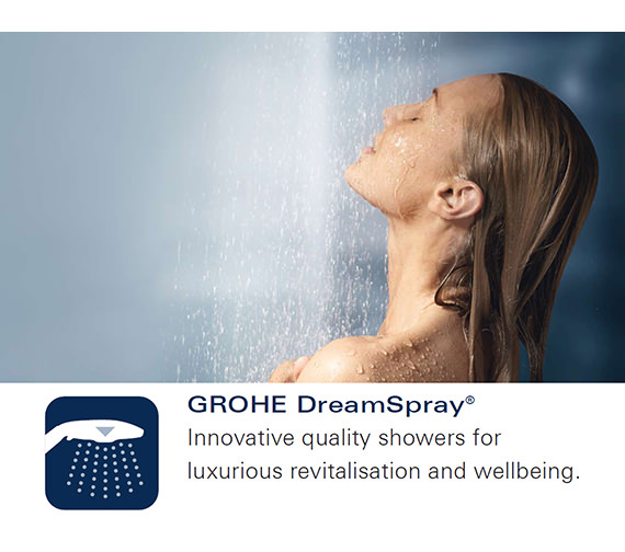 Alternate image of Grohe Rainshower Icon 100 Hand Shower Red
