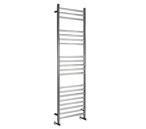 Phoenix Athena 350mm Wide Stainless Steel Pre Filled Electric Towel Rail
