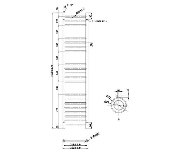 Technical drawing QS-V79561 / EA075