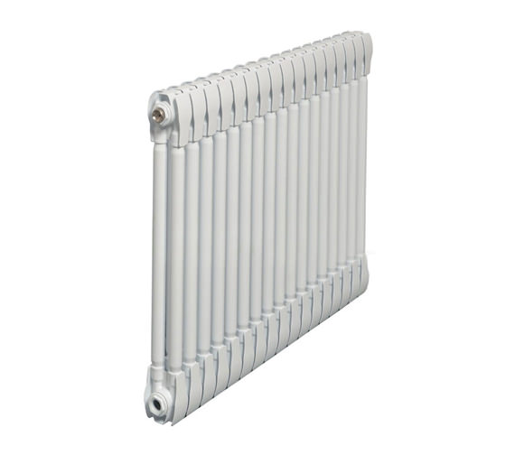 Apollo Monza White Horizontal 2 Column Radiator 600 x 420mm