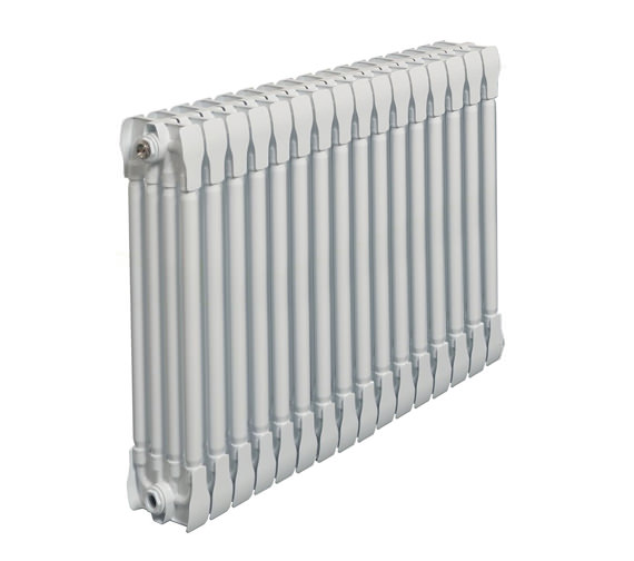 Apollo Monza White Horizontal 4 Column Radiator 1400 x 670mm