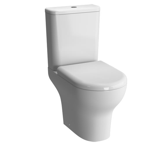 VitrA Zentrum Open Back Close Coupled WC Pan With Cistern