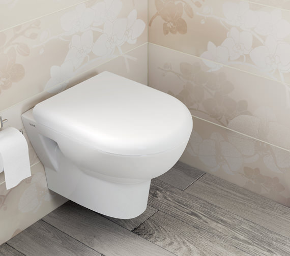 VitrA Zentrum 500mm Wall Hung WC Pan