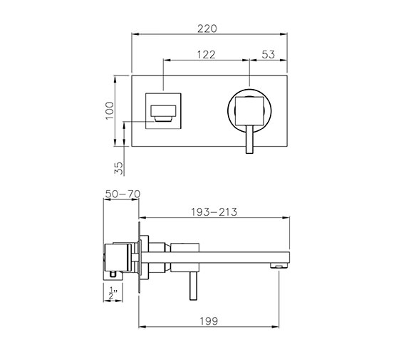 Technical drawing QS-V79740 / AB1276