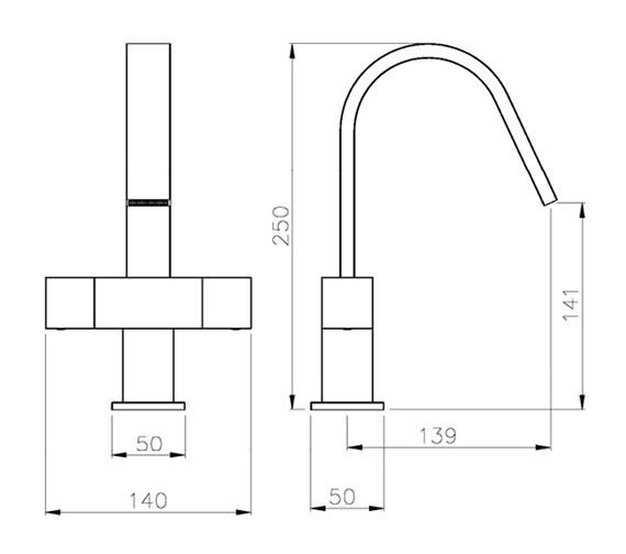 Technical drawing QS-V79742 / AB1289