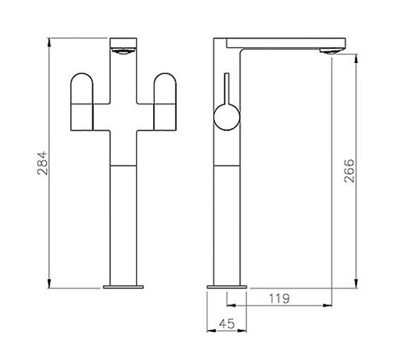 Technical drawing QS-V79746 / AB1452