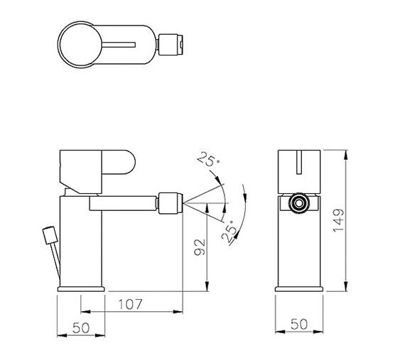 Technical drawing QS-V79753 / AB1460
