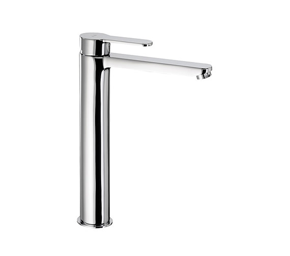 Abode Debut Monobloc Chrome Tall Basin Mixer Tap - AB1553