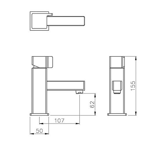 Technical drawing QS-V79762 / AB1604