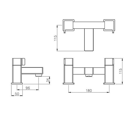 Technical drawing QS-V79765 / AB1607