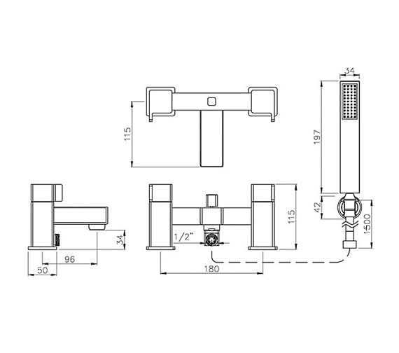 Technical drawing QS-V79766 / AB1608