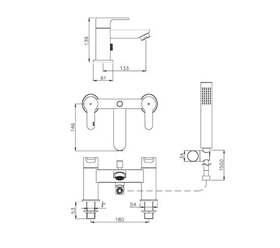 Technical drawing QS-V79770 / AB1557