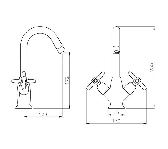 Technical drawing QS-V79772 / AB1653