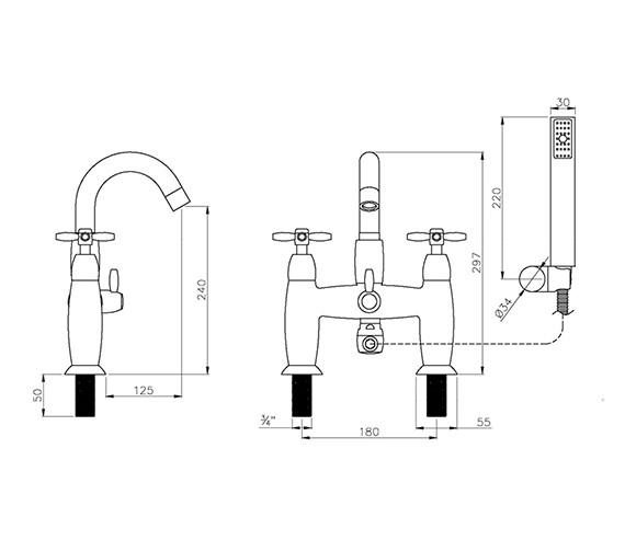 Technical drawing QS-V79777 / AB1659