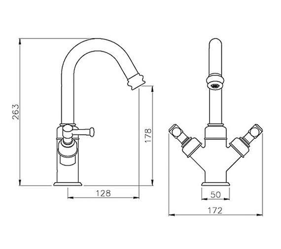 Technical drawing QS-V79780 / AB1702