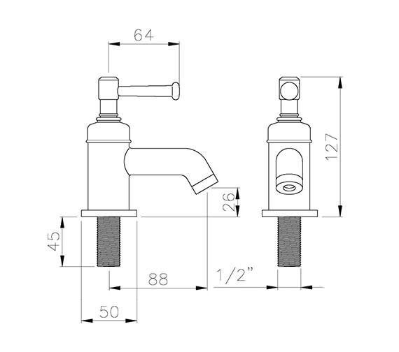 Technical drawing QS-V79783 / AB1701